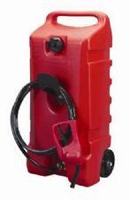 Scepter 06792 Flo Ngo Duramax 14 Gallon Red Portable Wheeled Fuel Gas Container
