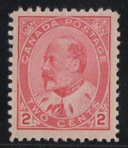 MOTON114-89-Edward-VII-2c-Canada-mint-well-centered