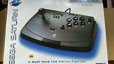Official Sega Saturn ARCADE VIRTUA Fighter Stick Controller Game Pad BRAND NEW
