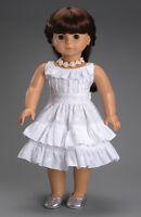 Carpatina American Girl Dolls Fleur Blanc Dress SB0060 Toys