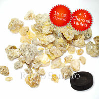 Gold Copal Granular Gum Mayan Resin Incense Tears Bulk+coals Incienso Golden Oro
