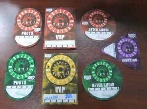 Linkin-Park-Projekt-Revolution-Tour-2007-Photo-Aftershow-VIP-Pass-unbenutzt