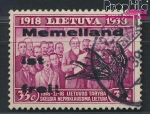 Memelgebiet-Lokalausgabe-III-geprueft-gestempelt-1939-Lokal-Ausgabe-8984769