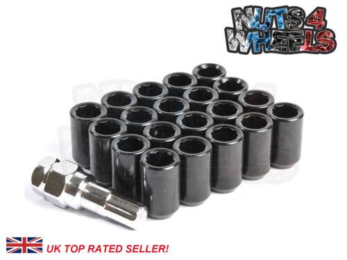 20 x Chrome Spline Wheel Nuts M12x1.5 Fits Ford KA StreetKA Puma RS