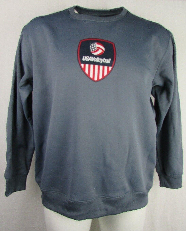 Chandail de volley-ball USA Adidas Climawarm Crewneck Homme S M L XL 2XL