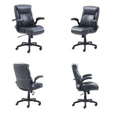 Serta Style Ashland Home Office Chair Cream Bonded Leather For Sale Online Ebay