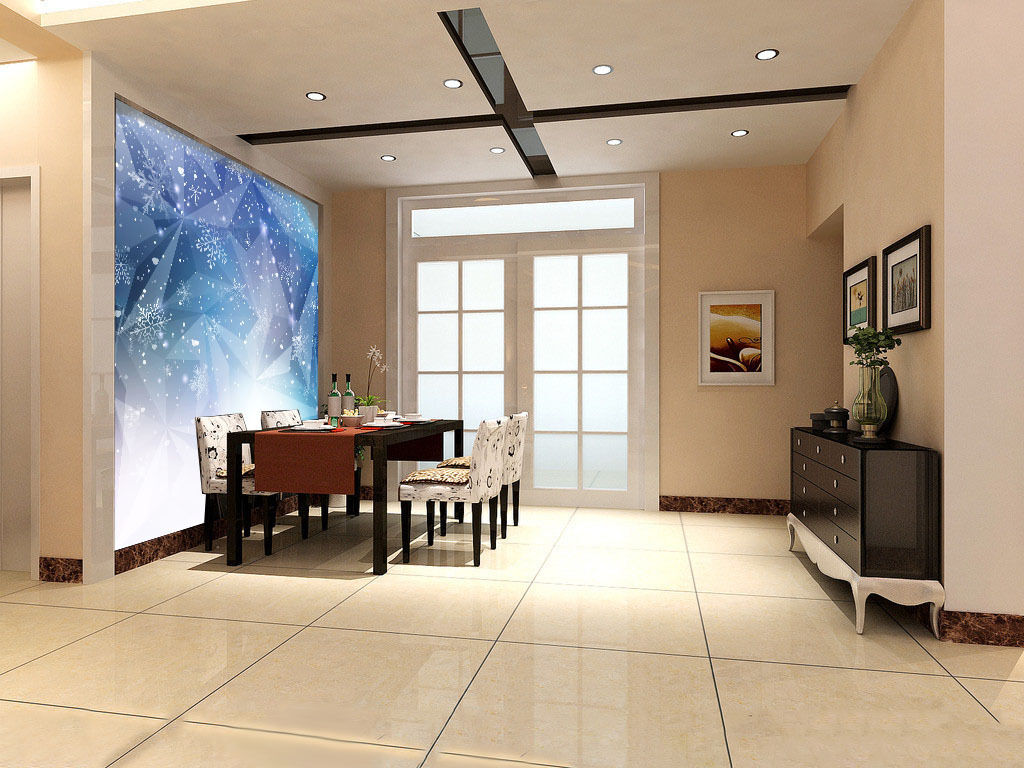 3D 3D 3D Pretty Snowflakes 68 Wall Paper Wall Print Decal Wall Deco Wall Indoor Murals 972e04