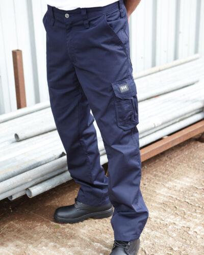 HELLY HANSEN SERVICE TROUSERS PANTS POCKETS FLAP WORKWEAR INDUSTRIAL MEN/'S SIZES