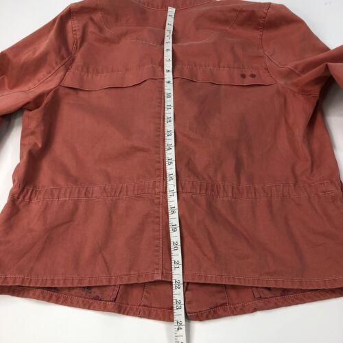 Jacket Field Hei Anthropologie Utility sienna Women's Coral Medium 1051 fwUqC
