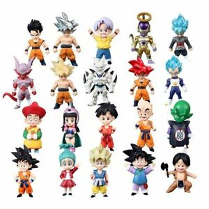 Mini-Dragon-Ball-Z-Super-Saiyan-Son-Gohan-Goku-Figure-Trunks-Vegeta