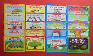 Learn-to-Read-Lot-20-Children-039-s-Little-Leveled-Readers-Phonics-Reading-Books-NEW
