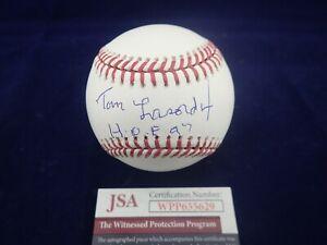 Tommy-034-Tom-034-Lasorda-LA-Dodgers-Signed-OML-Baseball-W-HOF-97-JSA-WPP655629