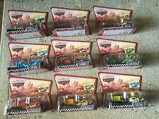 Disney Cars 9 Pit ROW RACE-OFF Launcher King Octane Trunk No Stall RPM Leak Less