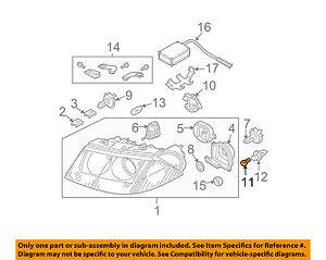 VW VOLKSWAGEN OEM 09-15 Jetta-Exterior Bulb N0177535