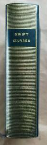 Œuvres  SWIFT Bibliothèque de la Pléiade 1965