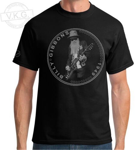 Rev Willie G BILLY GIBBONS Cool Coin  T shirt by V.K.G. of ZZ TOP