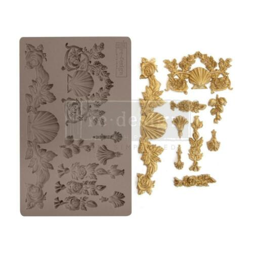 Prima Marketing Mould Mold SEAWASHED TREASURES Food Safe Clay Candy Chocolate