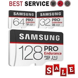 NEW-SAMSUNG-Micro-SD-card-Class-10-SDHC-SDXC-PRO-Endurance-Memory-Card-64G-32gb
