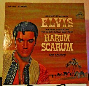 Elvis Presley – Harum Scarum - 1965 RCA Victor #LSP-3468 Rock Vinyl LP NICE!