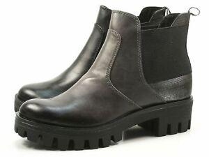 Tamaris Damen Stiefeletten 25441 Leder Boots Cognac (braun)   Modefreund Shop