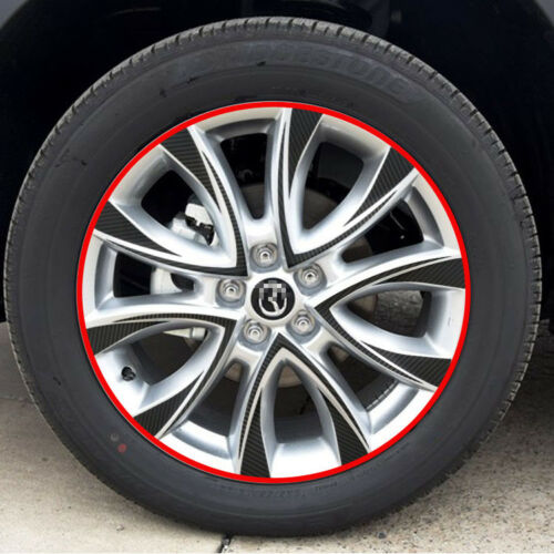 For Mazda CX-5 Carbon Fiber Car Wheels Mask Decals Stickers Sports Grade B style