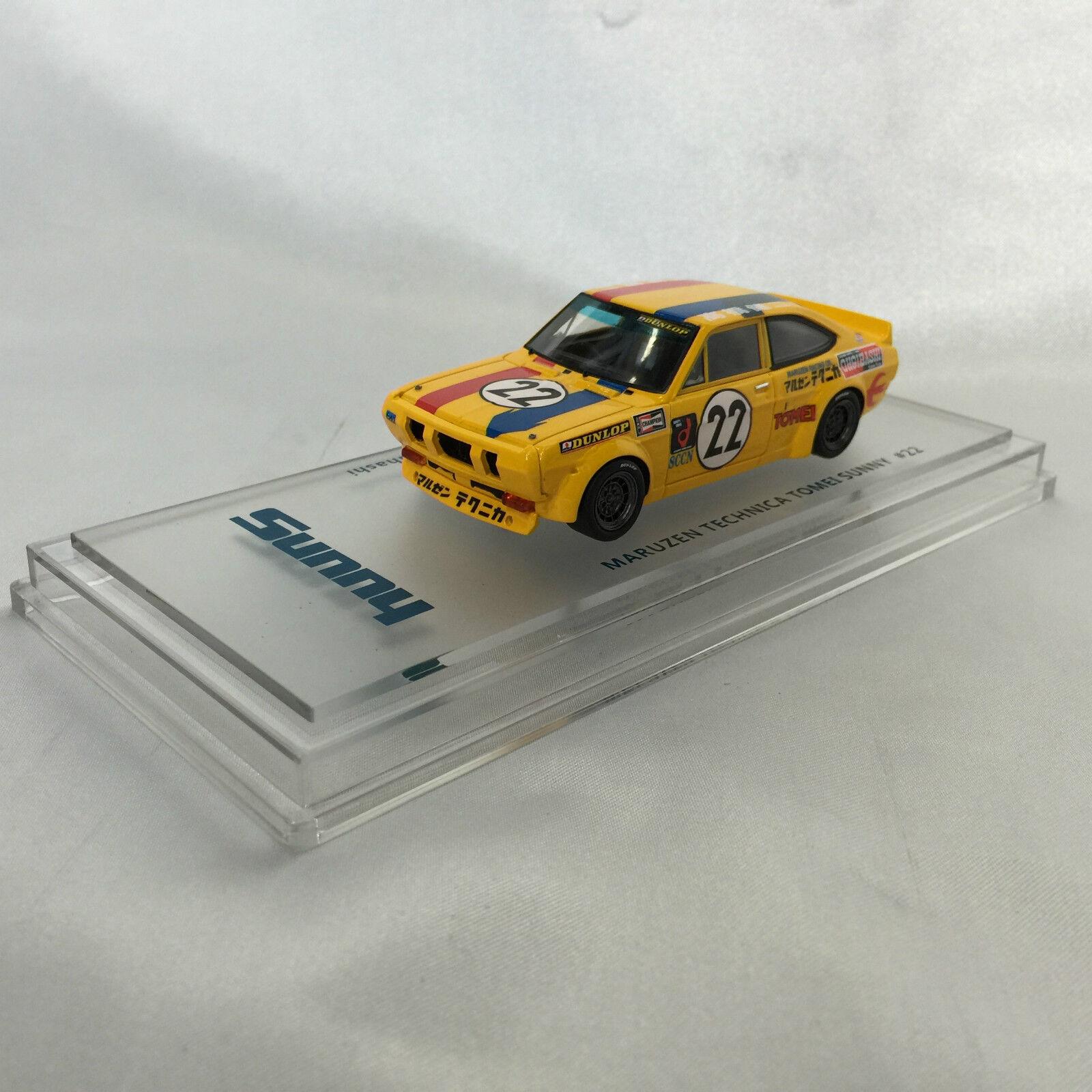 Datsun Sunny 1200 TS Maruzen Technica  22 1 43 Enif KB110 A12 coupé garçons +14