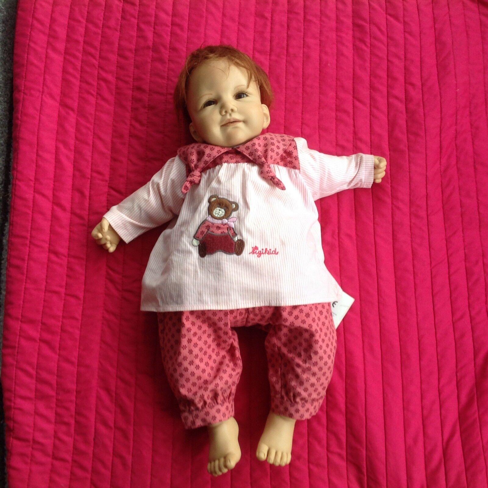 Rare Limited Edition Sigikid Artist Babies By Jannie de de de Lange Little Sally 8d205b