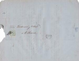 Spain 19th centuary stamps cover Ref 8320