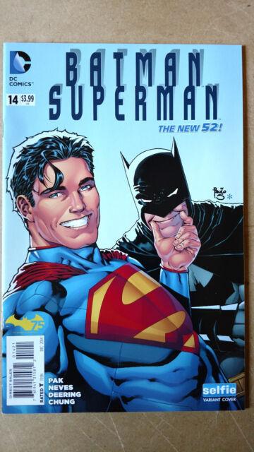 BATMAN SUPERMAN #14 SELFIE VARIANT FIRST PRINT DC COMICS (2014) JUSTICE LEAGUE