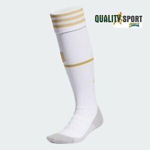 Dettagli su Adidas Juventus FC Calzettoni Home Bianco Oro Socks Originali 2020-2021 EI9890