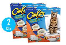2 Pack - CITIKITTY CAT TOILET TRAINING KIT - Save $$$$