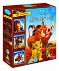 The Lion King Trilogy 1-3 Blu-ray 1 2 & 3 Simbas Pride and Hakuna Matata