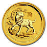 2018 Australia 1/4 oz Gold Lunar Dog BU