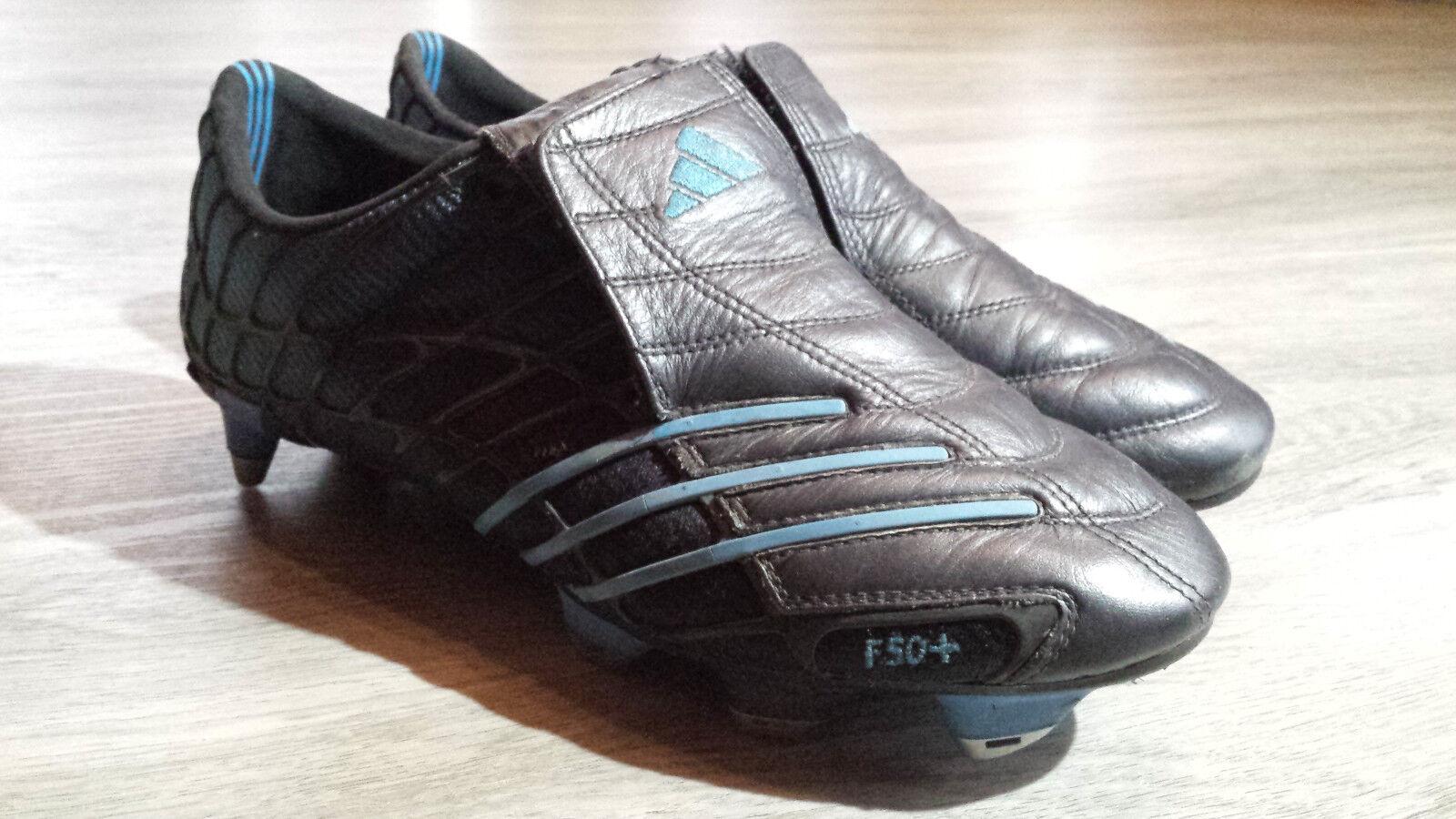 ADIDAS F50+ SG Spider schwarz blau 41 Fußballschuhe