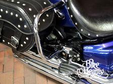 Yamaha Dragstar XVS1100 Vstar XVS 1100 Silverado Rear Crash Bars Guards