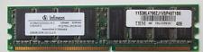 RAM barrette mémoire INFINEON : PC2700U-25330-AO , 256MB , DDR , 333.CL2.5.