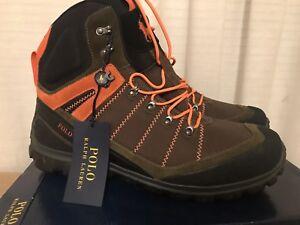 NIB-Authentic-POLO-RALPH-LAUREN-Men-039-s-Hillingdon-Boots-in-Olive-Size-11D