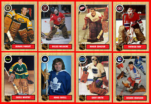 RETRO-1960s-1970s-1980s-1990s-NHL-Custom-Made-Hockey-Cards-U-Pick-THICK-Set-1