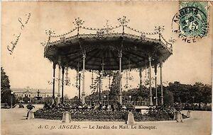CPA Angers -Le Jardin du Mail. Le Kiosque (167124) | eBay
