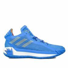 Men's adidas Dame 6 Damian Lillard Sonic Collab Basketball Trainers in Blue