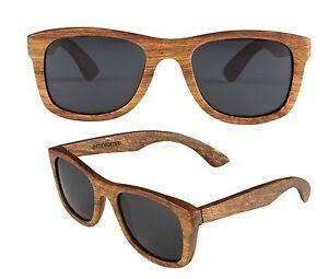 image is loading amoloma wood sunglasses pear wood frame eyewear unisex - Wooden Frame Sunglasses