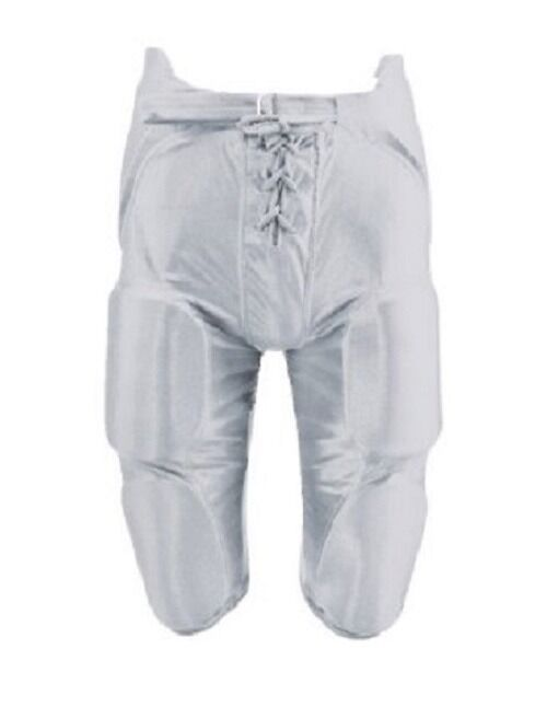 Martin Sports YOUTH Football Dazzle Game Pants with Pads, Integrated 7-Pad Set