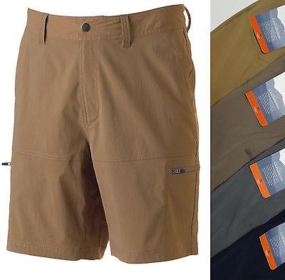 MENS Croft Barrow Side Elastic Cargo Shorts 29 30 31 32 33 34 36 40 42 44 NEW