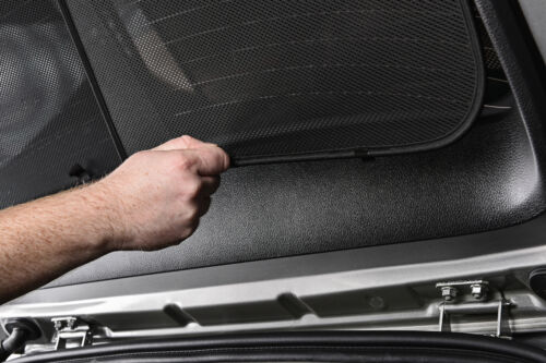 Honda Accord 4dr 03-07 UV CAR SHADES WINDOW SUN BLINDS PRIVACY GLASS TINT BLACK