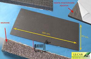 Pannello foglio liscio fonoassorbente insonorizzante for Finestra 50x100
