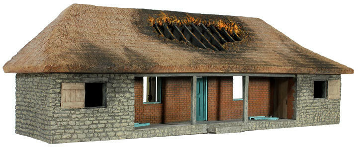 W Bretaña Zulú Guerra-rorke's Drift Hospital versión N ° 2, con acabado de techo