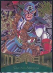 1995-Marvel-Metal-Trading-Card-11-Captain-America