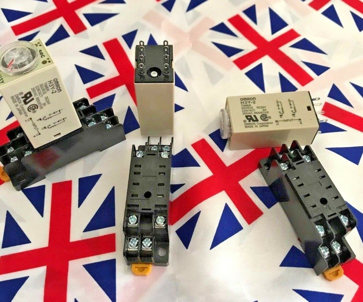 ⭐⭐ H3Y-2 12V 0-60m Power On Delay Timer Time Relay ⭐⭐ Base 60 minutes ⭐⭐