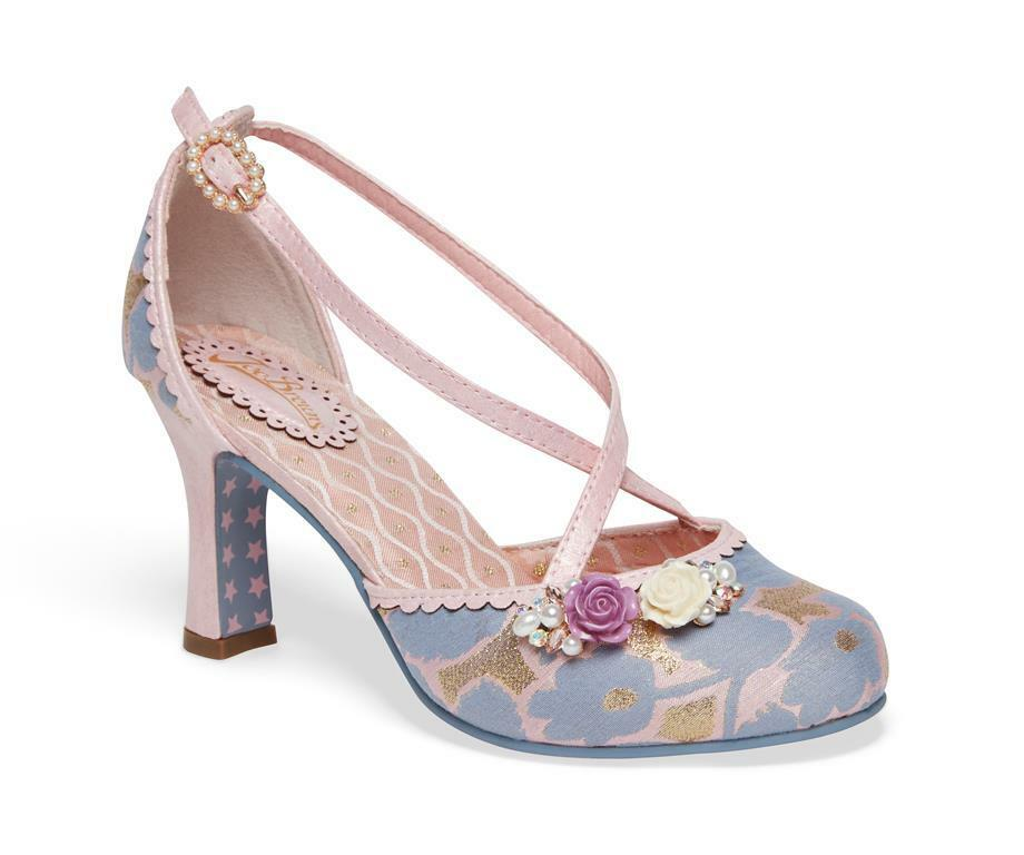 Ladies Joe Quirky Browns Couture Evangeline Shoe Boots Vintage Quirky Joe Retro Sizes 4-8 bee4b1