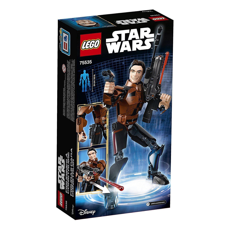 LEGO Star Wars Wars Wars Han Solo 75535 Building Kit 101 pieces cb08dc